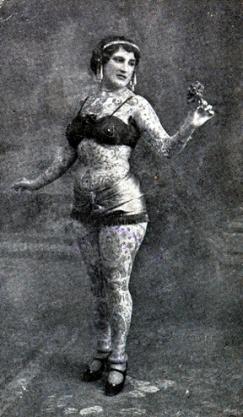 Викторианская татуировка. (Фото 9)