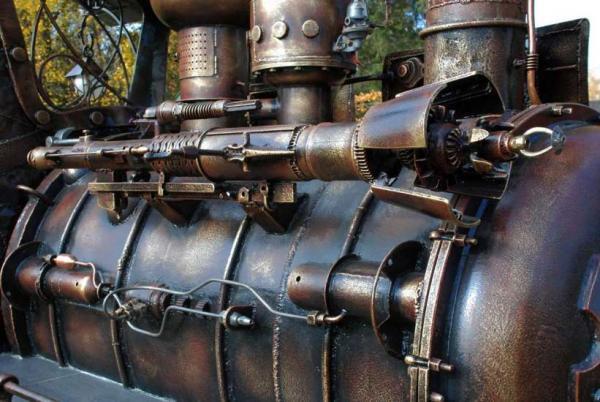 Мангал паровоз (Фото 2)